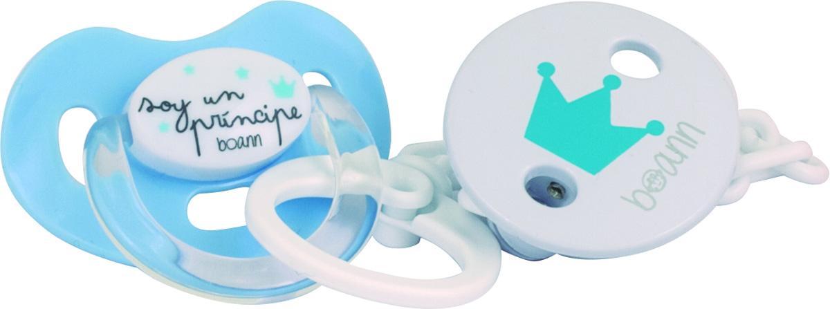 Chupete y Cadena Principe azul Boann