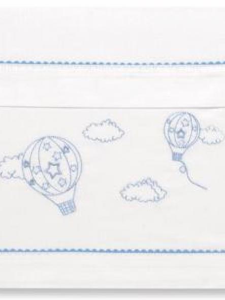 Sábanas algodón Bimbi L'etoile Globo azul 405