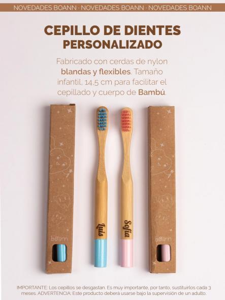 Cepillo dental bambú personalizado  [1]