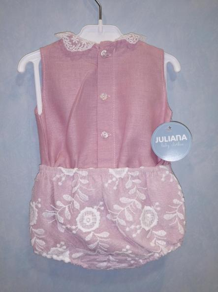 Conjunto camisa encaje de bebé niña [1]