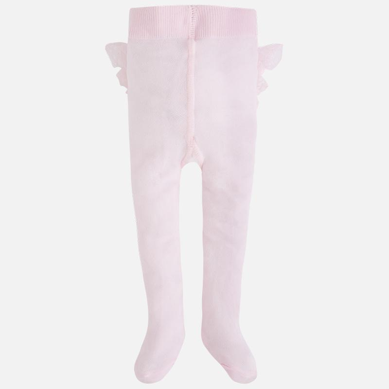 Medias bebé con volantes rosa Mayoral 9446