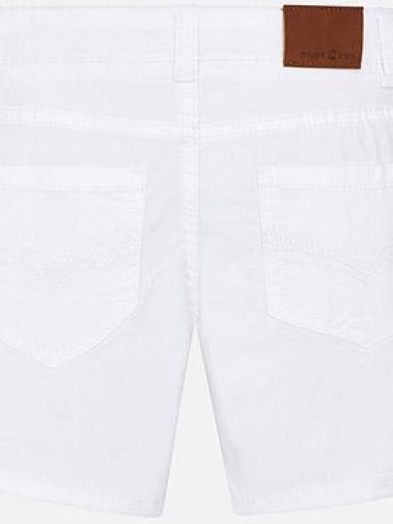 Bermuda básica niño blanca Mayoral 204 [1]