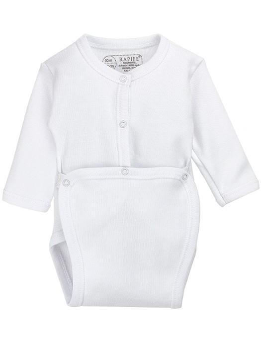 Body abierto manga larga neonato