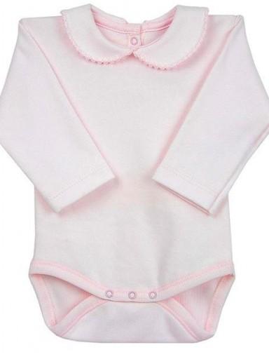 Body cuello bebé recién nacido rosa