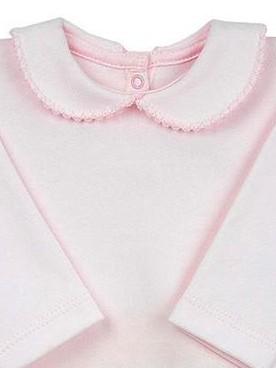 Body cuello bebé recién nacido rosa [1]