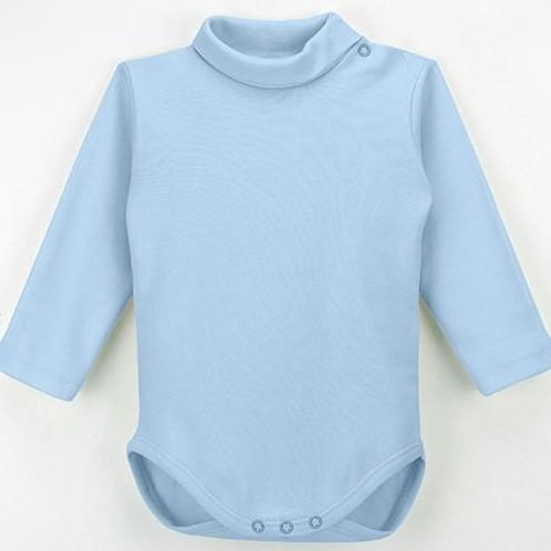 Body cuello vuelto manga larga para bebé [2]