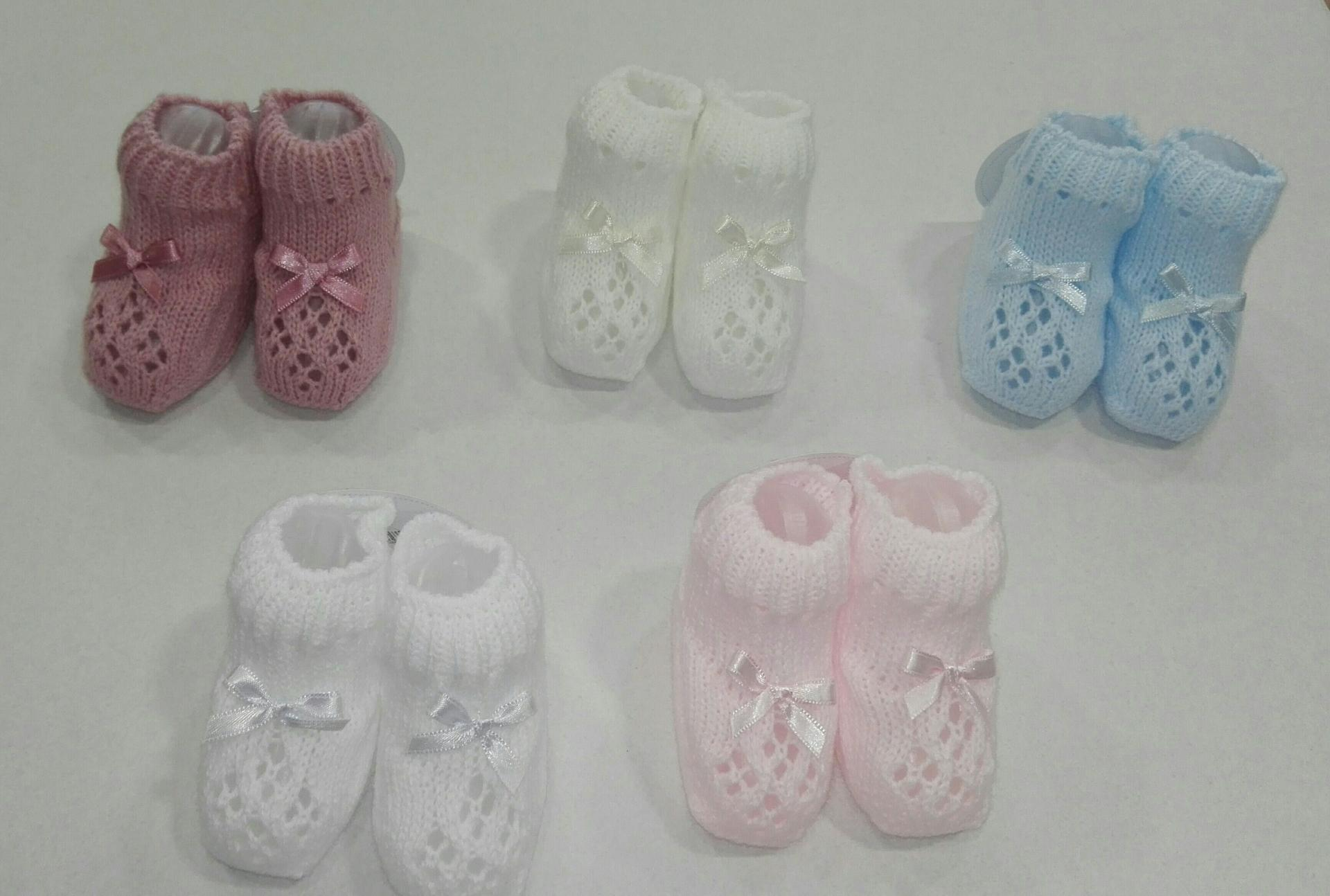 Botita patuco tricot varios colores Juliana