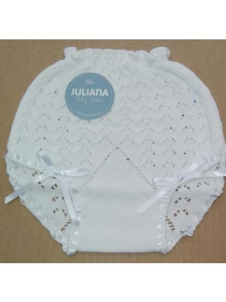 Braga calada  Juliana Vistiendo Bebés  [2]