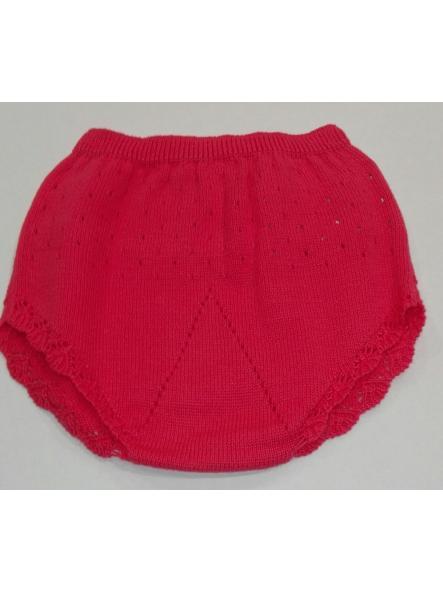 Braga calada bebé tricot algodón fresa Mayoral  [1]
