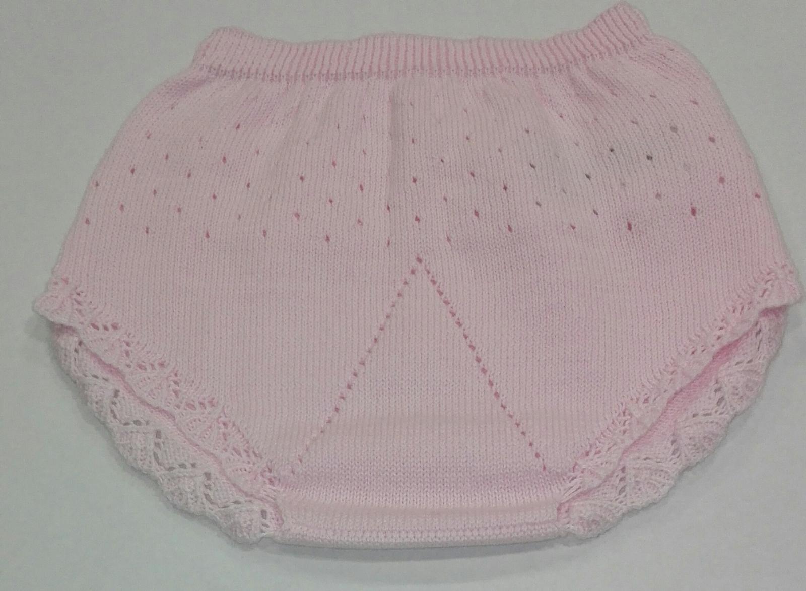 Braga calada bebé tricot algodón fresa Mayoral