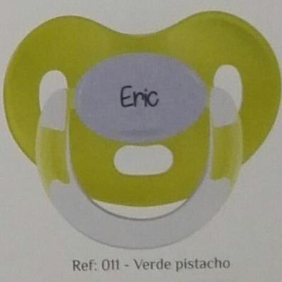 Chupete personalizado Verde pistacho Boann 011