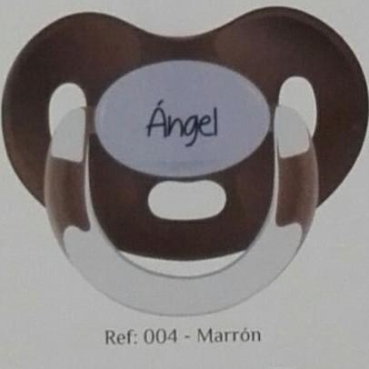 Chupete personalizado Marrón Boann 004 [0]