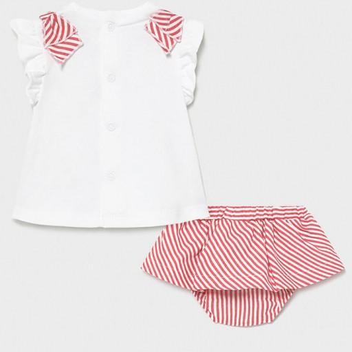 Conjunto bebé niña falda [1]