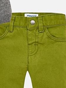 Conjunto bebe jersey tricot  Ceniza y pantalon Mayoral 2588 [3]