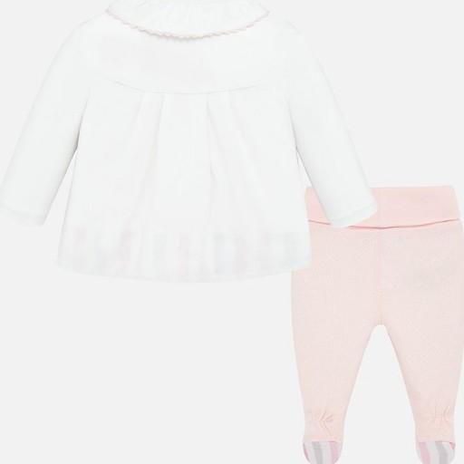 Conjunto bebé niña polaina estampada [1]
