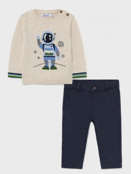 Conjunto pantalón largo y jersey astronauta