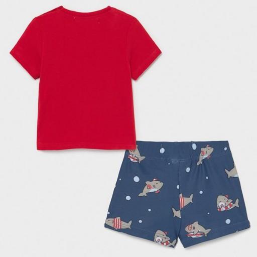 Conjunto baño camiseta y bañador [1]