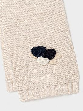 Conjunto flores niña gorro, bufanda y guantes [2]