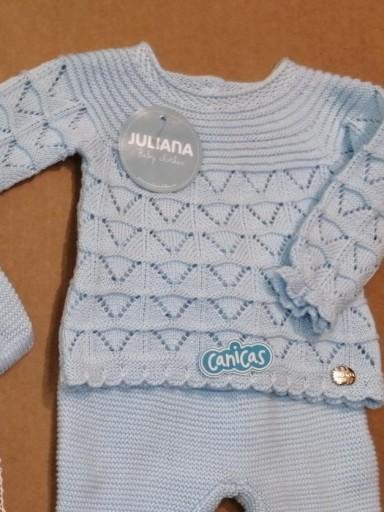 Conjunto Juliana bebé calado entretiempo [3]