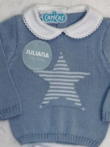 Conjunto Juliana bebé estrella entretiempo [2]