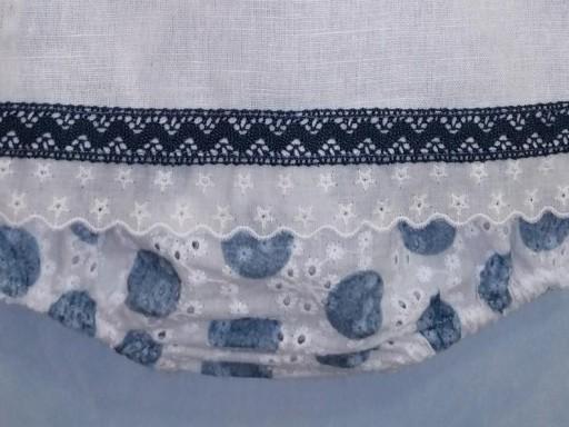 Camisa y braga tela bordada topos  [2]