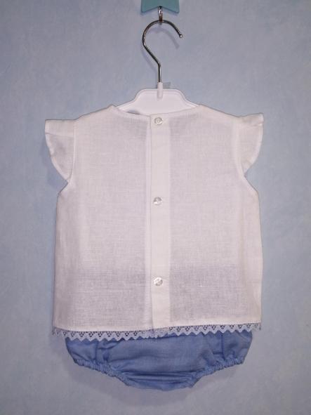 Camisa y braga hilo y puntilla [2]