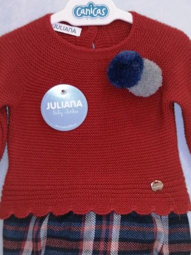 Conjunto Juliana jersey pantalón corto cuadros [2]