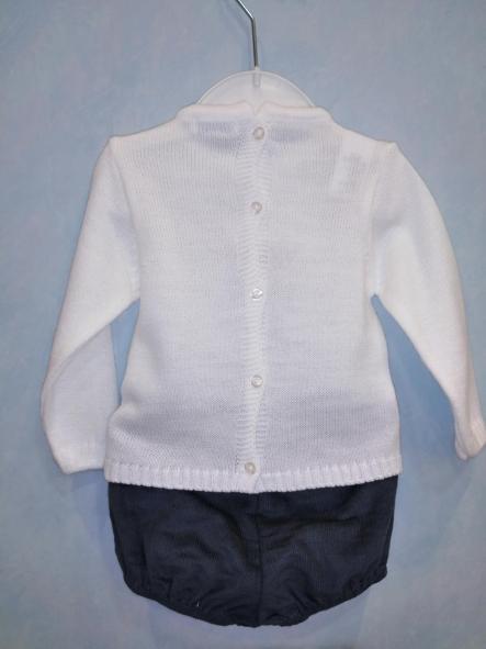 Conjunto pantalón corto y jersey rombo [1]