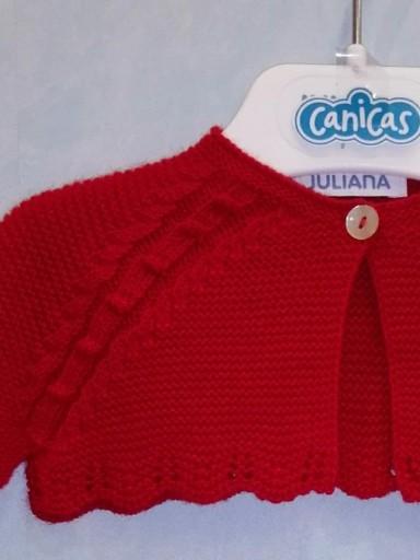 Rebeca corta Juliana bebé roja [2]