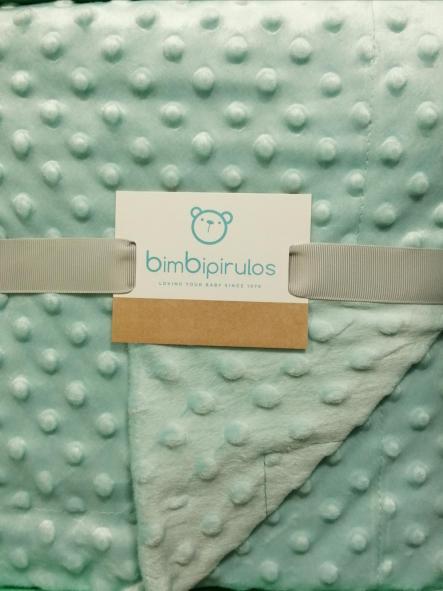 Manta bebé doble cara Dots [0]
