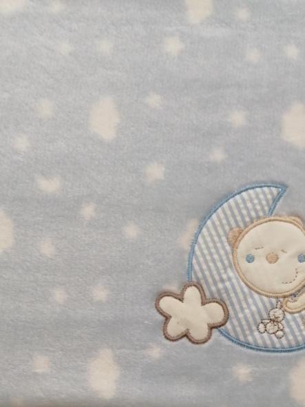 Manta microlina Oso luna Pirulos [1]