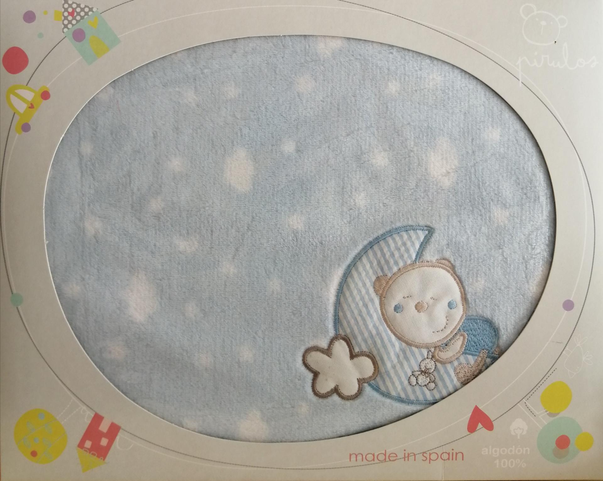Manta microlina Oso luna Pirulos