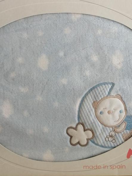 Manta microlina Oso luna Pirulos [0]