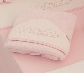 Maxicapa de baño nuit Rosa