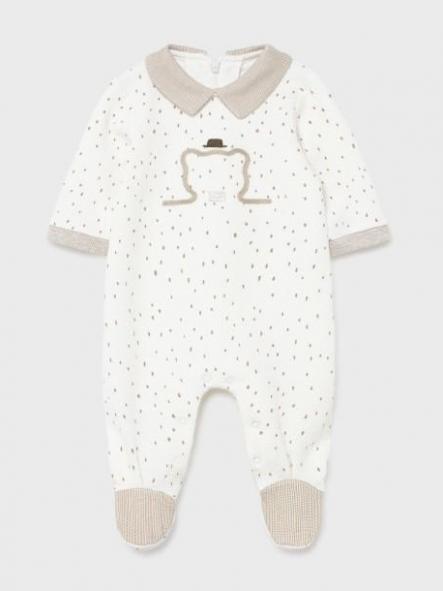 Pelele ecofriends acolchado recién nacido