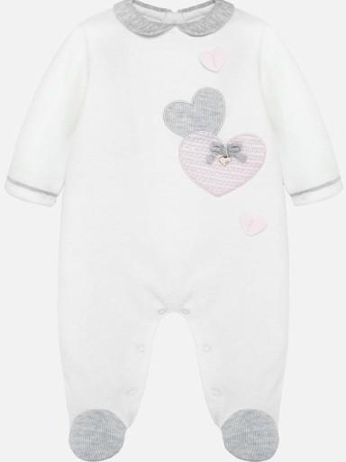 Pijama bebé tundosado crudo Mayoral 2703