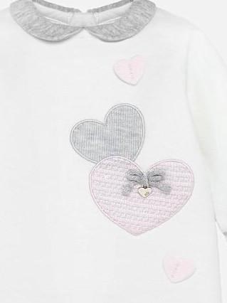Pijama bebé tundosado crudo Mayoral 2703 [2]