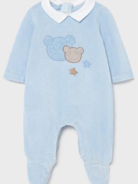 Pijama bebé niño invierno