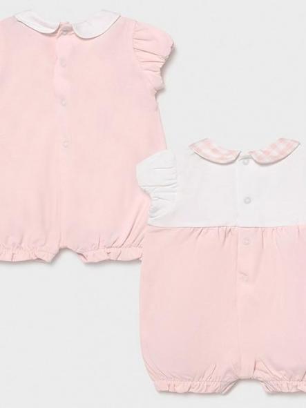 Set pijamas cortos bebé niña [1]