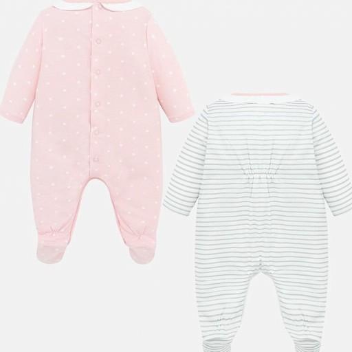 Set pijamas  largos bebé niña estampados [1]