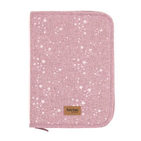 Portadocumentos natural baby rosa