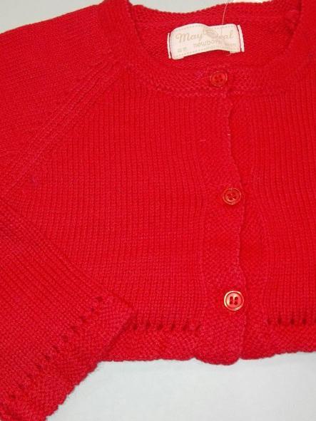 Rebeca básica bebé rojo guinda o crudo  Mayoral 307 [1]