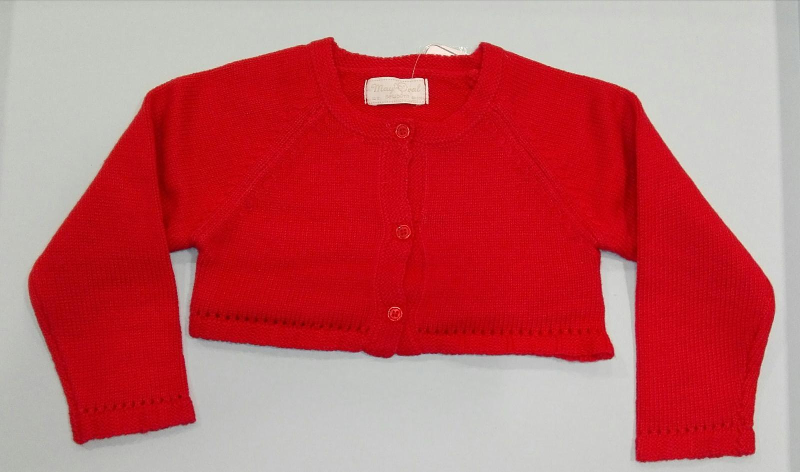 Rebeca básica bebé rojo guinda o crudo  Mayoral 307