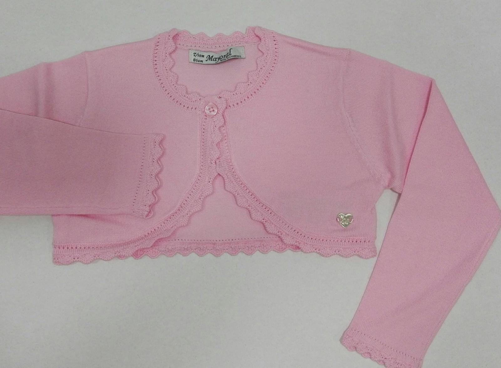 Rebeca básica bebé niña rosa Mayoral 306