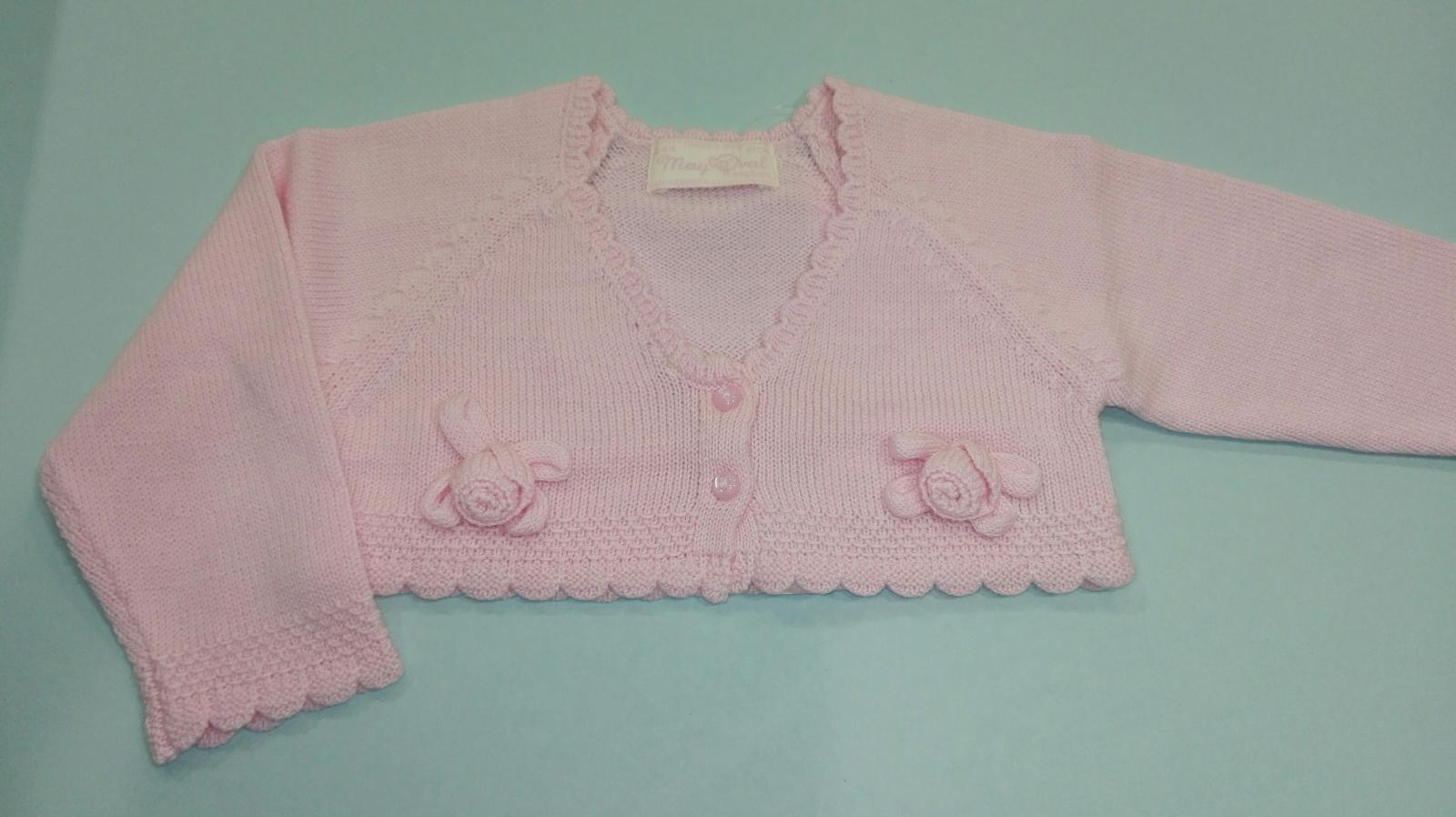 Rebeca bebé niña flores rosa Mayoral