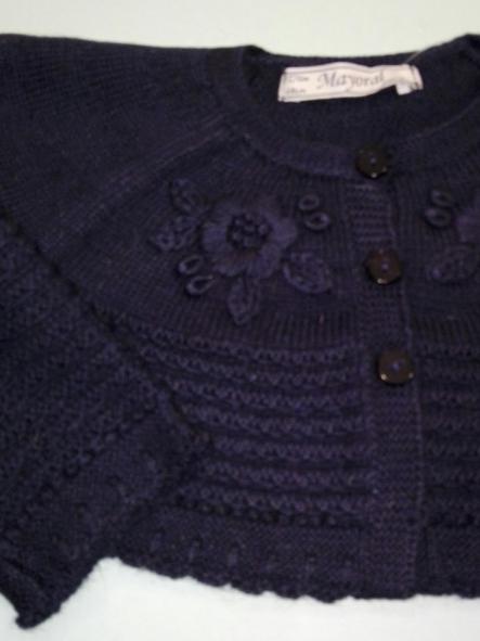 Rebeca tricot bebé niña marino Mayoral 2351  [1]