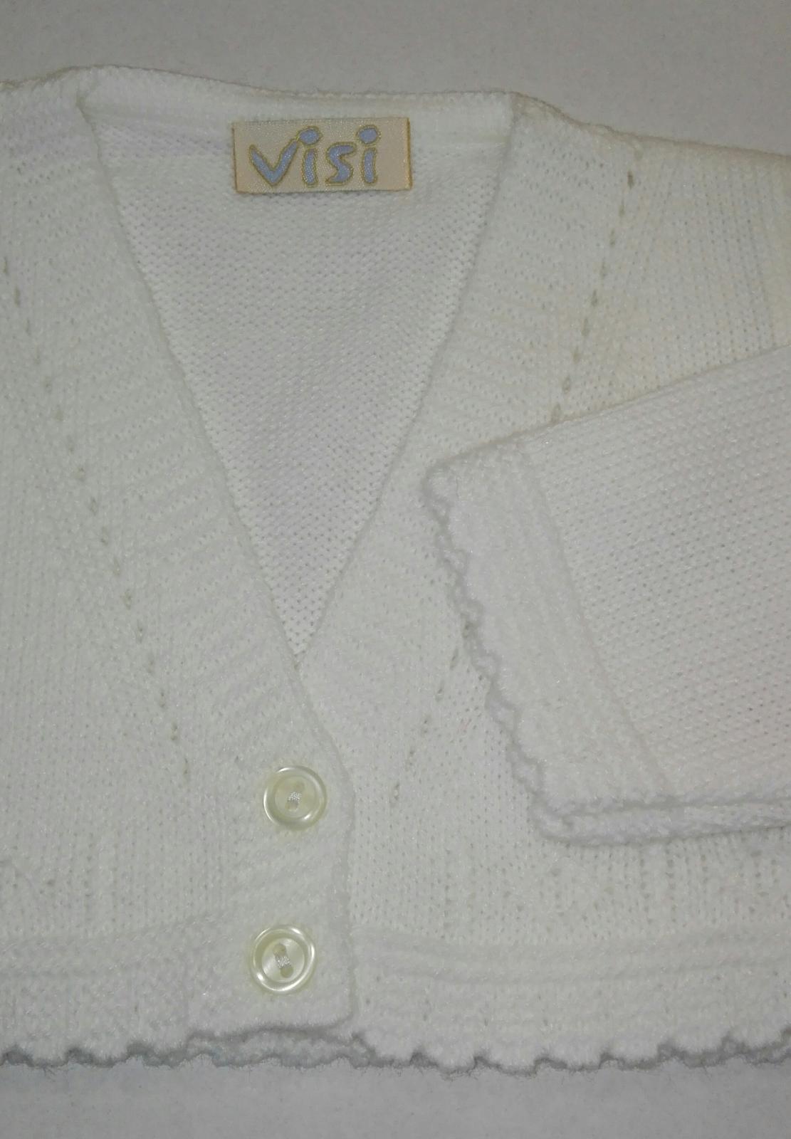Rebeca tricot básica bebé niño beig Visi 662
