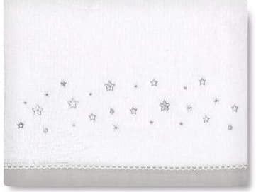 Sabanas microlina Dot Stars gris Pirulos