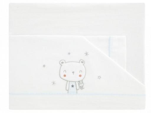 Sábanas algodón oso polar Bimbi
