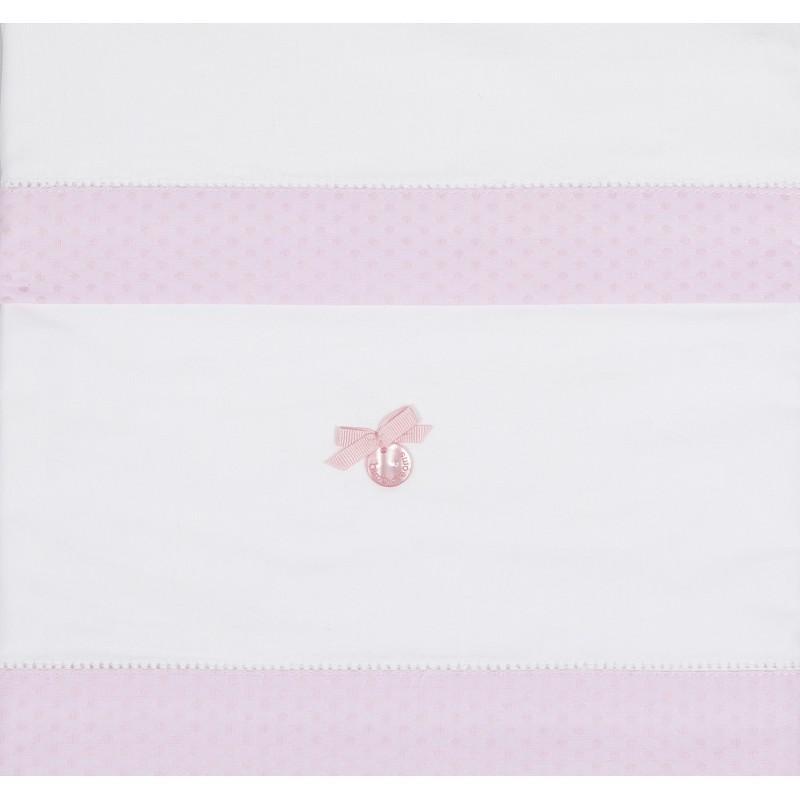 Sábanas algodón Venecia rosa